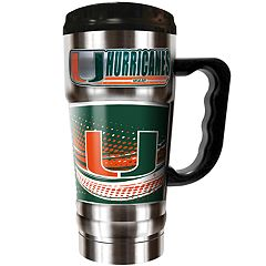 Miami Hurricanes Champ 20-Oz. Travel Tumbler Mug