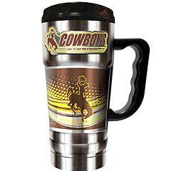 Wyoming Cowboys Champ 20-Oz. Travel Tumbler Mug