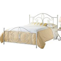 Hillsdale Furniture Ruby Fleur-De-Lis Bed