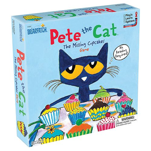 Pete the Cat Missing Cupcakes Game by Briarpatch