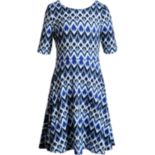 Girls 7-16 Emily West Bow Back Reversible Dress
