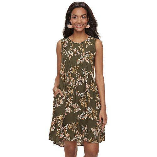 cd9d539584c Women s SONOMA Goods for Life™ Pintuck Challis Shift Dress
