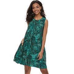Women's SONOMA Goods for Life™ Pintuck Challis Shift Dress