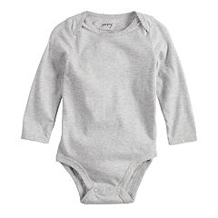 Baby Girl Jumping Beans® Picot Solid Bodysuit