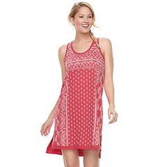 Women's SONOMA Goods for Life™ French Terry High-Low Tank Dress