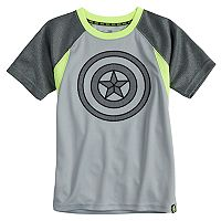 Boys 4-10 Marvel Hero Elite Series Avengers Infinity Wars Collection for Kohl's Captain America Active Tee