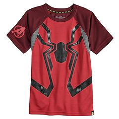 Boys 4-10 Marvel Hero Elite Series Avengers Infinity Wars Collection for Kohl's Spider-Man Mesh Active Tee