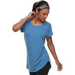 Women's Tek Gear® Asymmetrical Seam Open Back Tee