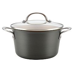 Ayesha Curry Home Collection 4.5-quart Hard-Anodized Aluminum Covered Saucepot