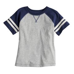 Baby Boy Jumping Beans® Short Sleeve Striped Raglan Tee