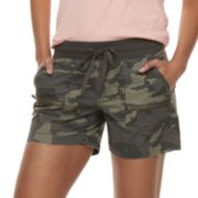Women's SONOMA Goods for Life™ Zipper Accent Pull-On Utility Shorts