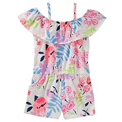 Toddler Girl OshKosh B'gosh® Print Off-The-Shoulder Romper