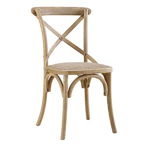 Linon Bentwood Rustic Dining Chair 2-piece Set