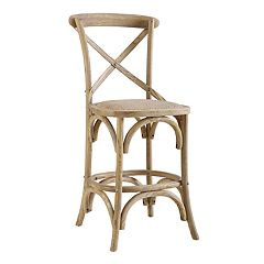 Linon French Country Wood Bar Stool