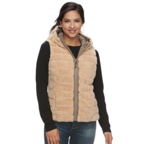 Women's Be Boundless Hooded Reversible Vest