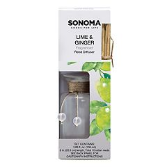 SONOMA Goods for Life™ Lime & Ginger Reed Diffuser 12-piece Set