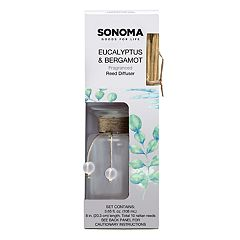 SONOMA Goods for Life™ Eucalyptus & Bergamot Reed Diffuser 12-piece Set