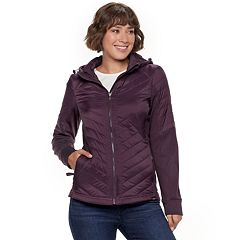 Women's Be Boundless Hooded Mixed-Media Jacket