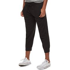 Juniors' SO® Crop Jogger Sweatpants
