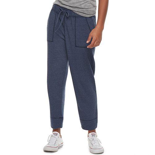 f32db38237365e Juniors' SO® Crop Jogger Sweatpants