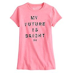 Girls 7-16 Under Armour 'My Future Is Bright' Tee