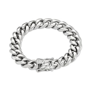 Men's Stainless Steel Curb Chain Bracelet