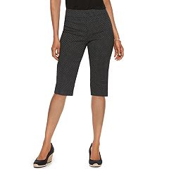 Women's Dana Buchman 14-in. Pull-On Skimmer Capris
