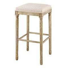 Linon Sulla Collection Backless Bar Stool