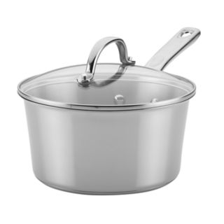 Ayesha Curry Home Collection 3-quart Stainless Steel Covered Saucepan