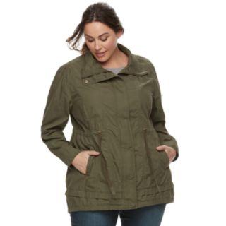 Plus Size Be Boundless Anorak Jacket