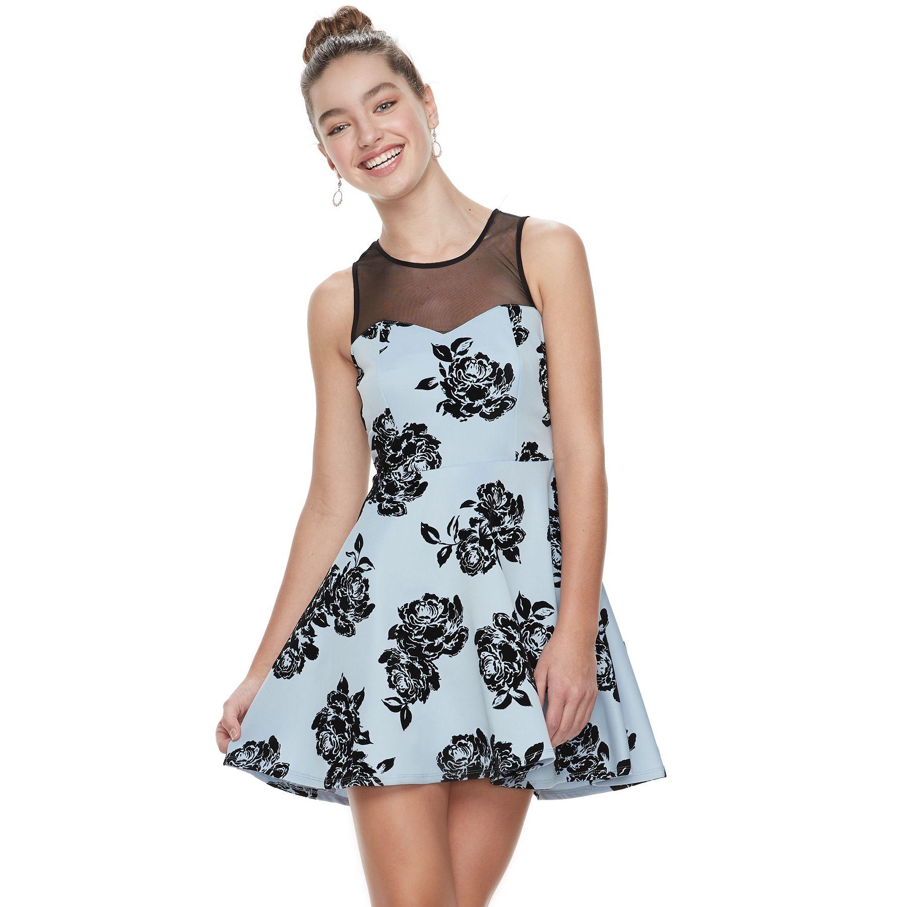 Scuba Skater Dress