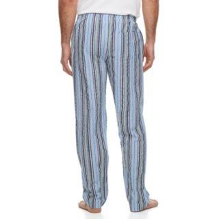 Men's Residence Summer Shells Striped Seersucker Lounge Pants