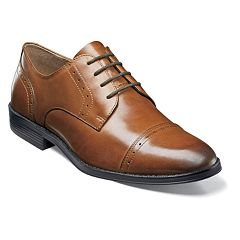 Nunn Bush Sherwood Men's Cap Toe Dress Oxfords