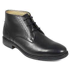Nunn Bush Sherwood Men's Plain Toe Dress Chukka Boots