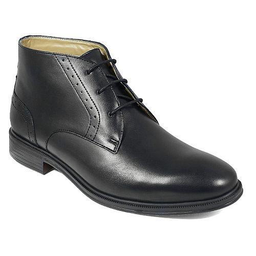 Nunn Bush Sherwood Men's Plain Toe Dress Chukka Boots