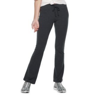 Juniors' SO® Tie-Waist Skinny Bootcut Yoga Pants