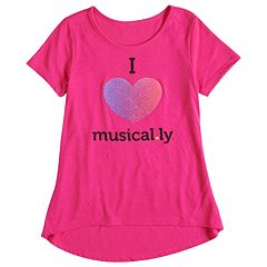 Girls 7-16 'Musical.ly' Graphic Tee