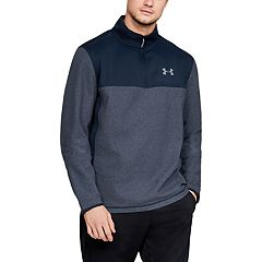 Mens UNDER ARMOUR Under Armour Men's ColdGear® Infrared Fleece ¼ Zip