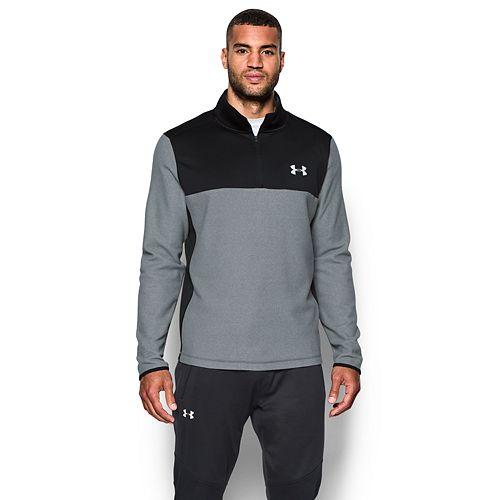 fe0028545c Mens Under Armour Men's ColdGear® Infrared Fleece ¼ Zip