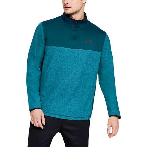 b4a834a4ef411 Mens Under Armour Men's ColdGear® Infrared Fleece ¼ Zip