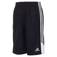 Boys 4-7x adidas climalite Moto Camouflage Embossed Pieced Shorts