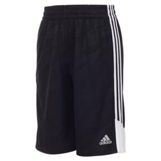 Boys 4-7x adidas climalite Moto Camouflage Embossed Pieced Shorts