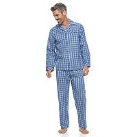 Men's Residence Poplin Pajama Set