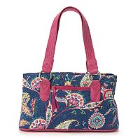 Donna Sharp Reese Paisley Shoulder Bag