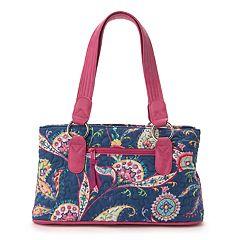 Donna Sharp Reese Paisley Shoulder Bag