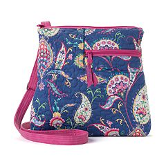 Donna Sharp Becki Paisley Crossbody Bag