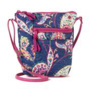 Donna Sharp Penny Paisley Crossbody Bag