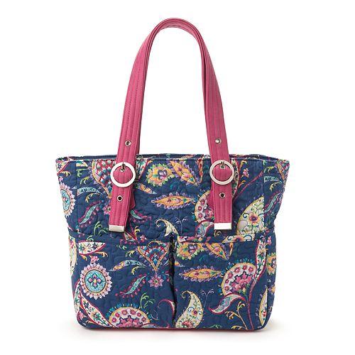 Donna Sharp Elaina Paisley Shoulder Bag