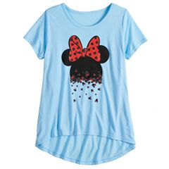 Girls 7-16 Disney's Minnie Mouse Glitter Mini Heads Graphic Tee