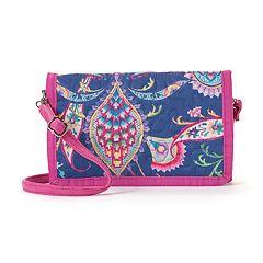Donna Sharp Paisley Crossbody Wallet
